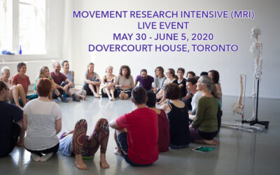 2020 Toronto Movement Research Intensive