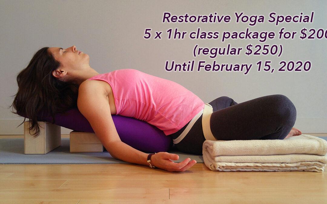 Winter Restorative Yoga Special